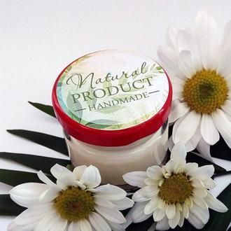 Натуральный шлифовочный крем для лица
