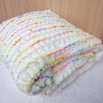 Детский плед, детское одеяло в коляску или кроватку