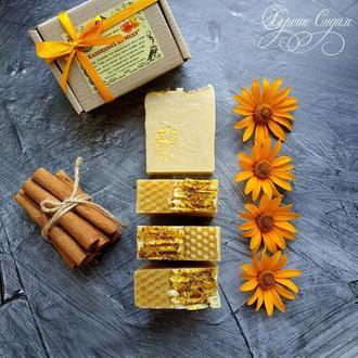 Натуральное мыло «Календула на меду»