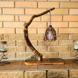 Настольная лампа в стиле Эко / Eco-friendly table lamp