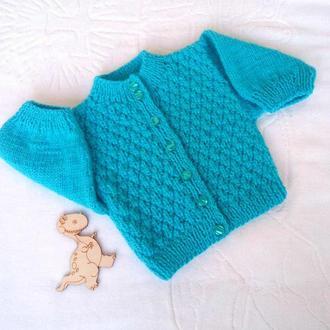 Теплая кофта для малышей