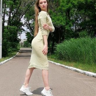 """Вязаное платье """"Норд"""""""