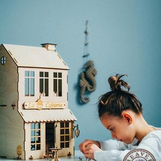 Ляльковий будиночок 2в1