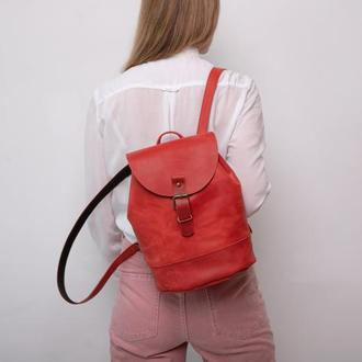 Рюкзак BARREL из натуральной кожи рюкзак