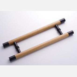 Ручка для стеклянной двери из дерева, Скло+Глас