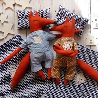Мягкие игрушки Лисички (пара)