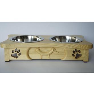 Подставка с мисками для котов и собак Pet's Bar КотоПес