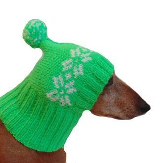 Зимняя шапка для маленькой собаки,шапка для собаки