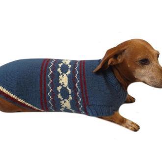 Свитер с черепами для собаки,свитер для таксы,свитер для собаки,теплая одежда для собаки