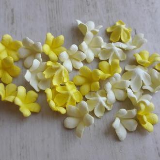 Мелкие цветочки крокусы ЖЕЛТЫЙ МИКС