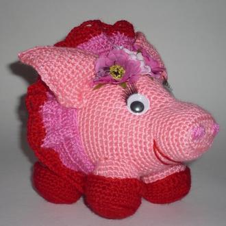 Свинка гачком