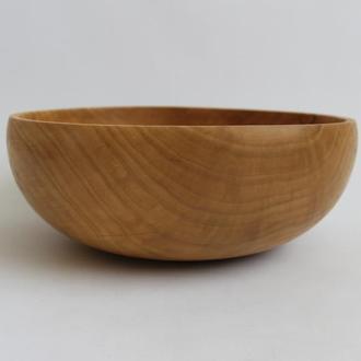 Велика миска з дерева, фруктовниця