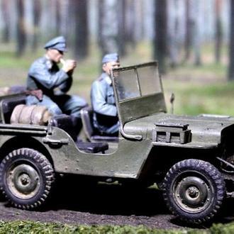 "масштабная модель Commando Car ""Willy's"""
