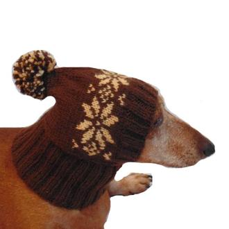 Шапка для собаки,шапка для таксы