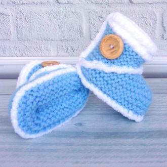пинетки-угги для малышей