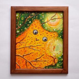 "Картина ""Лунная сова"""