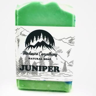 """Мыло натуральное  """"Juniper"""" ( Можевельник)"""