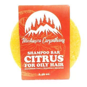 """Шампунь твердый  """"Цитрус"""" для жирного типа волос"""