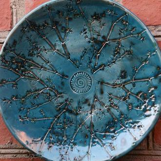 Тарілка керамічна велика ′SuperNova′