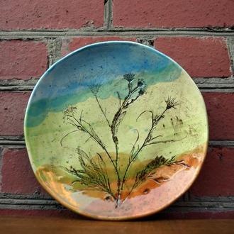 Тарілка керамічна велика ′Мокош′