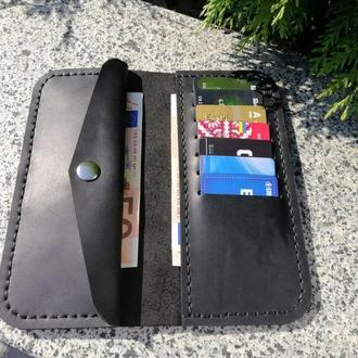 Кожаный кошелек из натуральной кожи