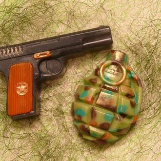 Мыло Пистолет, мужчинам