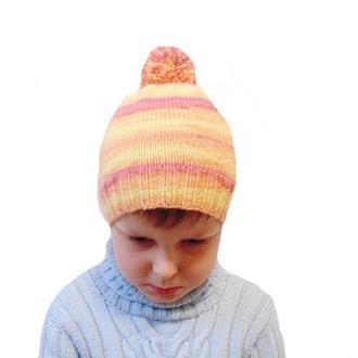 Демисезонная детская шапка