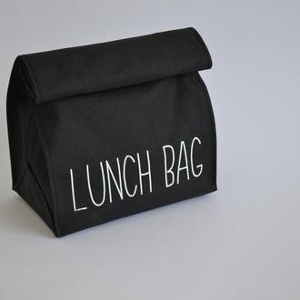 Lunch bag чёрный