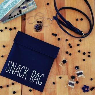 Snack Bag синий