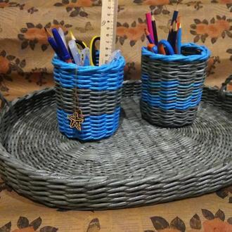 Карандашница, стакан, подставка для карандашей