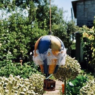 """Елочная игрушка """"Прекрасный воздушный шар"""""""