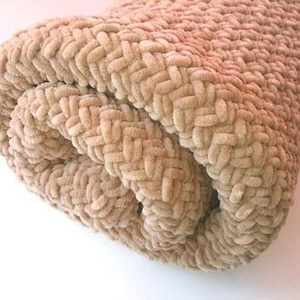 Бежевый Плюшевый Детский плед, Детское одеяло, плед для новорожденного, на подарок