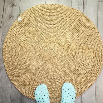 Коврик, Коврик из джута, Циновка круглая (70cм)