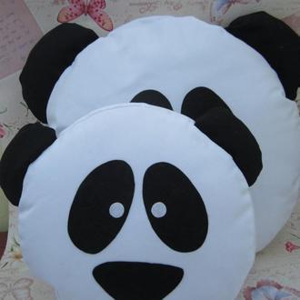 Комплект подушек панд Emoji Smile (большая+маленькая) №25