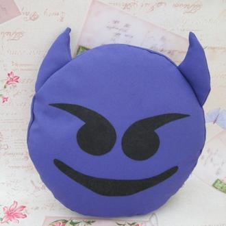 Подушка-смайлик Emoji #23 Чертик