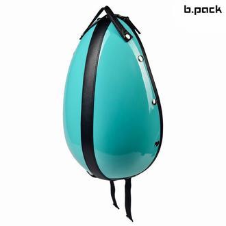 Кожаный рюкзак ручной работы со сменными цветными панелями