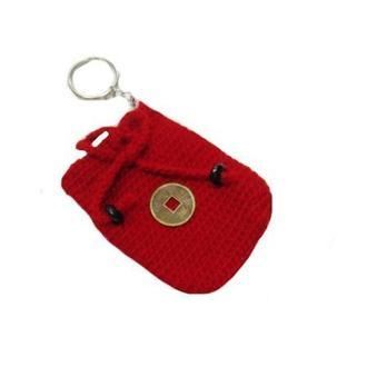 Мешочек для привлечения денег-брелок для ключей