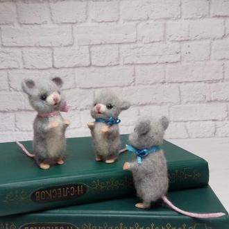 Игрушки мышки. Мышь. Мышонок. Мышата. Сувенир мышь