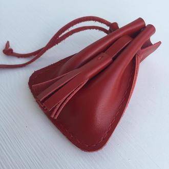 Кошелек сумка для мелких денег Красный