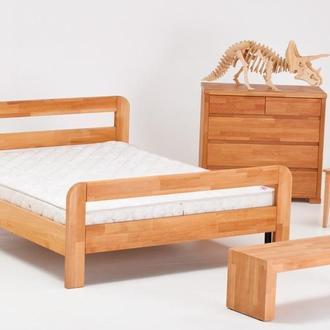 Кровать Reno массив бука с высоким изножьем
