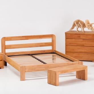 кровать RENO из массива бука с низким изножьем