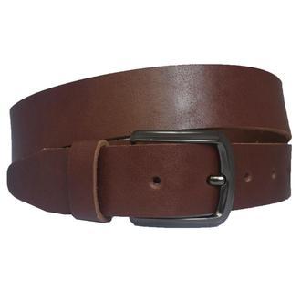 Champion3 коричневый кожаный мужской ремень под джинсы кожанный пояс кожа