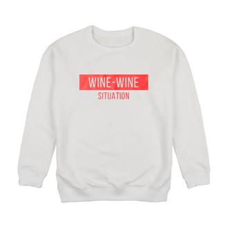 Женский свитшот Wine-Wine Situation