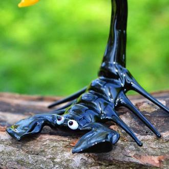 Фигурка из стекла скорпион декоративная скульптура статуэтка Подарок