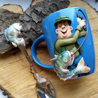 Кружка для рыбака