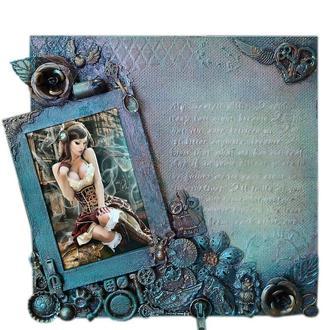 Необычная фоторамка, оригинальный подарок девушке на день влюбленных 8 марта или день рождения