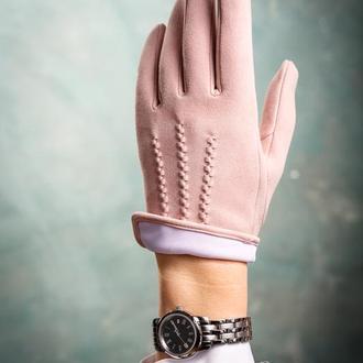 Замшевые перчатки UNISEX