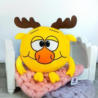 Мягкая игрушка - подушка Лосяш Смешарики