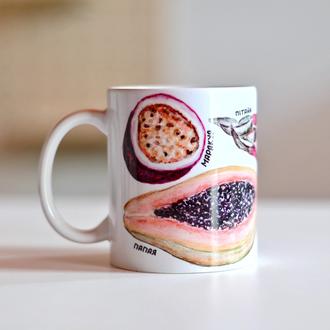 Чашка «Екзотичні плоди»