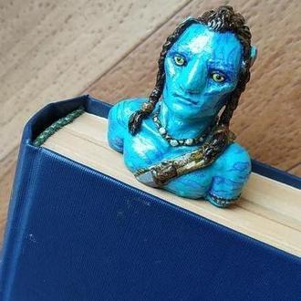 Закладка для книг и блокнотов Аватар. Подарок. AVATAR
